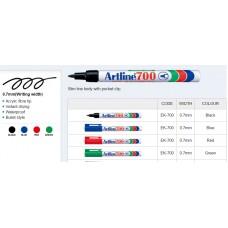 Artline 700 Permanent Markers Black