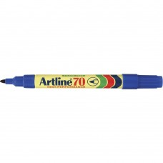 Artline 70 Permanent Markers Blue