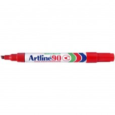 Artline 90 Permanent Markers Red