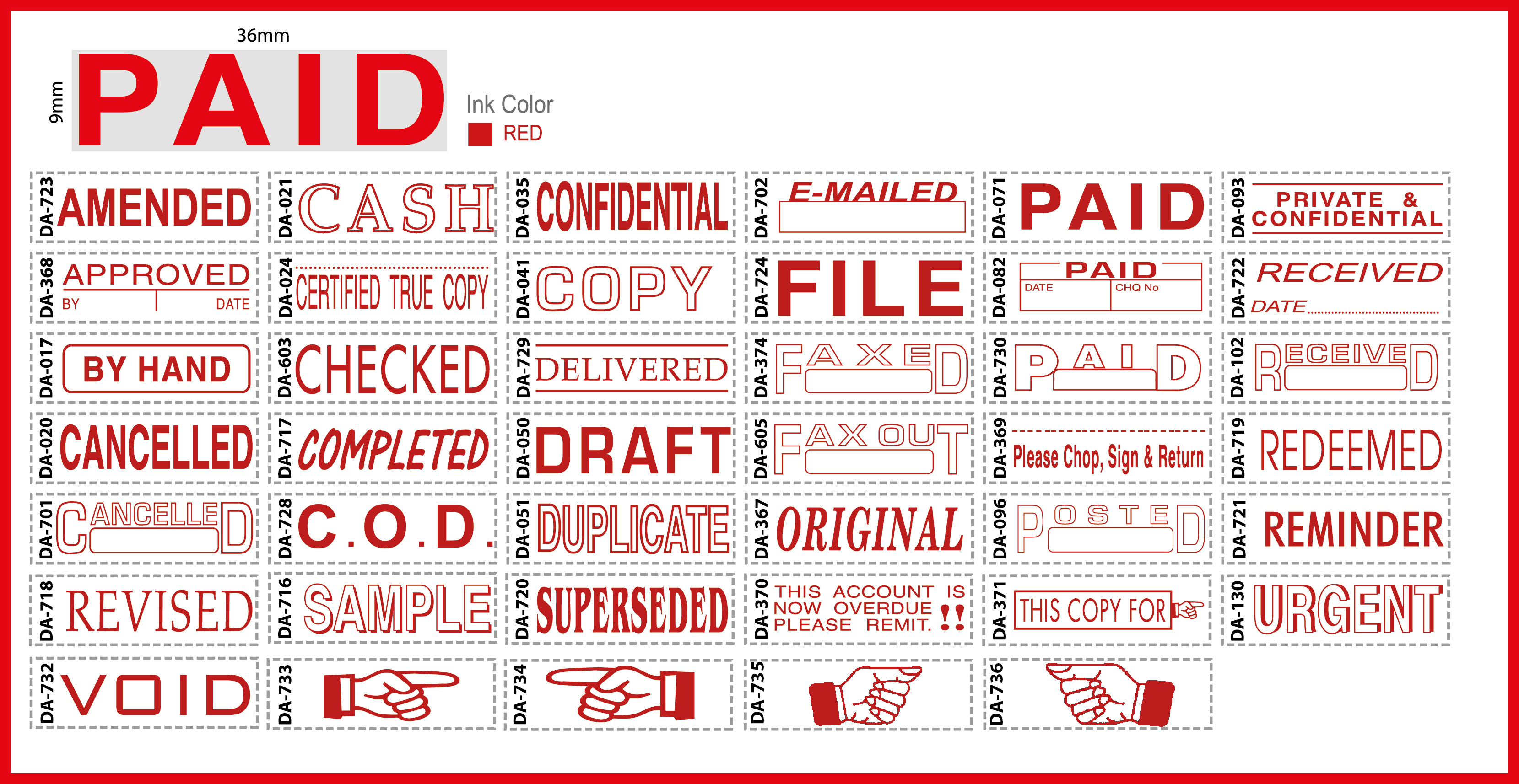 Paid Stamp Sample Military Bralicious Co